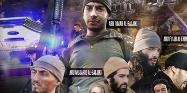 IS-Propaganda zeigt alle Gesichter der Paris-Attentäter