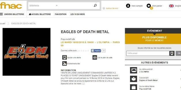 Les places pour le concert des Eagles of Death Metal à l'Olympia vendues en 30 minutes