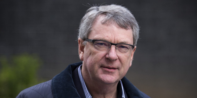 LONDON, ENGLAND - MARCH 30:  Lynton Crosby, the Conservative Party election campaign consultant, walks through Downing Street on March 30, 2015 in London, England. Campaigning in what is predicted to be Britain's closest national election in decades will start after Queen Elizabeth II dissolves Parliament today.  (Photo by Carl Court/Getty Images)