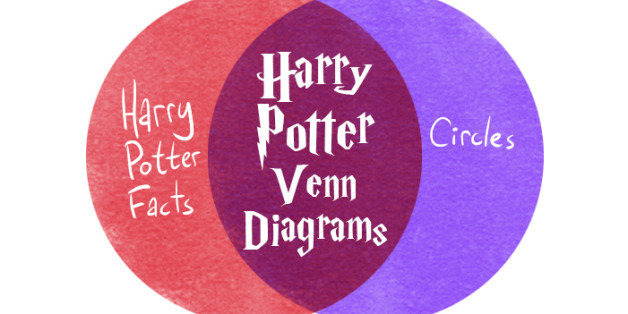 These Next Level Venn Diagrams Capture The Magic Of Harry Potter