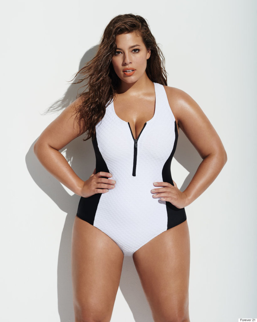 b8e1f493915 Ashley Graham Is The Face Of Forever 21 s Spring 2016 Plus-Size ...