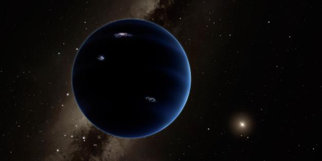 Eine Animation des California Institute of Technology zeigt, wie Planet Neun aussehen könnte