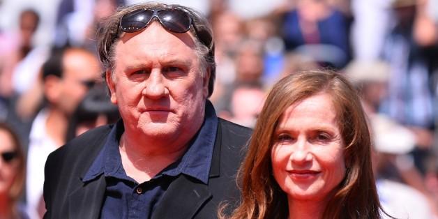 Isabelle Huppert und Gerard Depardieu bei der Filmpremiere 'Valley of Love' in Cannes.