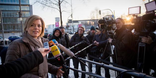 Julia Klöckner sieht die Maßnahme des SWR kritisch - der Sender will die AfD nicht an den TV-Duellen teilnehmen lassen
