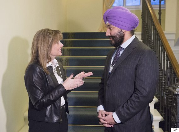 navdeep bains mary barra