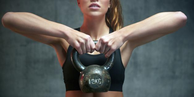 Das Training mit der Kettlebell soll die Kraftausdauer und die Bewegungskoordination stärken.