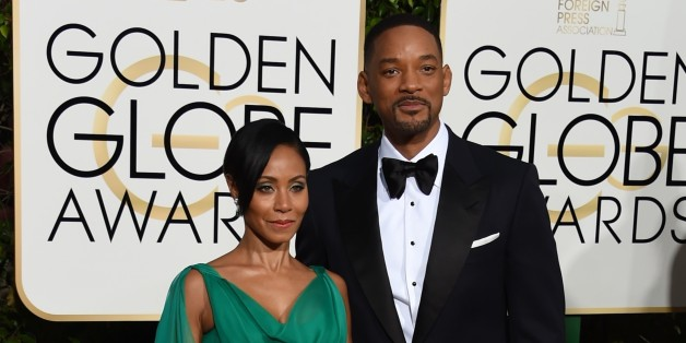 Will Smith et Jada Pinkett à la cérémonie des Golden Globes