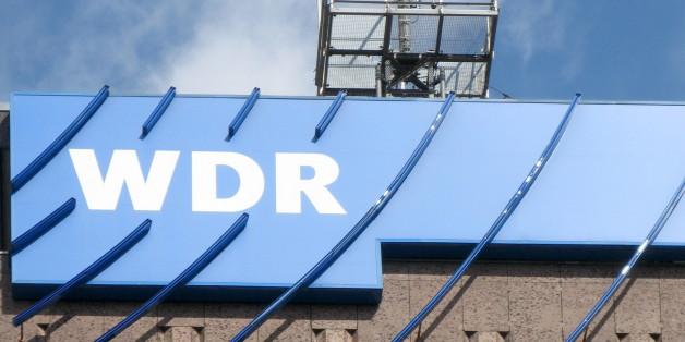 (GERMANY OUT) Germany North Rhine-Westphalia Cologne - Westdeutscher Rundfunk WDR tv station, building with logo  (Photo by JOKER / Helmut Metzmacher/ullstein bild via Getty Images)