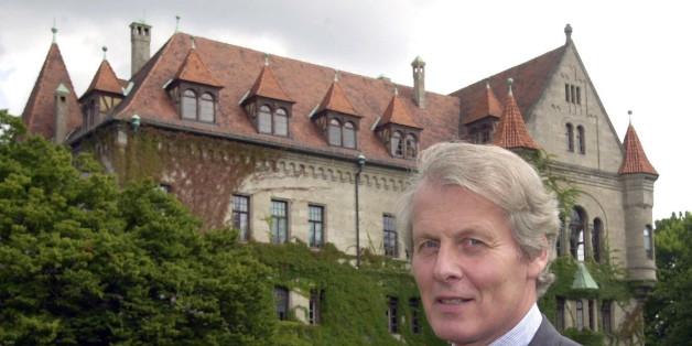Stifthersteller Anton-Wolfgang Graf von Faber-Castell ist tot.