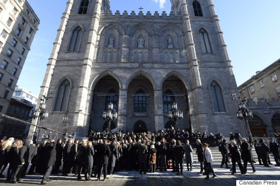 rene angelil funeral friday