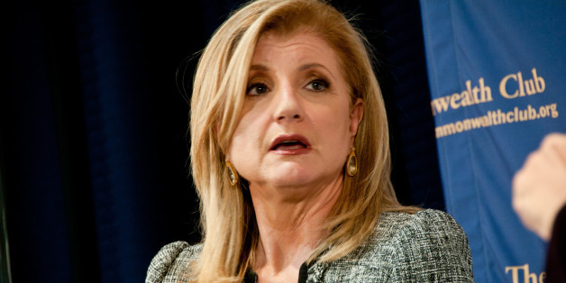 "Arianna Huffington at the Commonwealth Club, part of her book tour for ""Third World America.""  CC BY NC photo by JD Lasica. Must credit: JD Lasica/Socialmedia.biz. Contact the photographer for rights to republish this image."