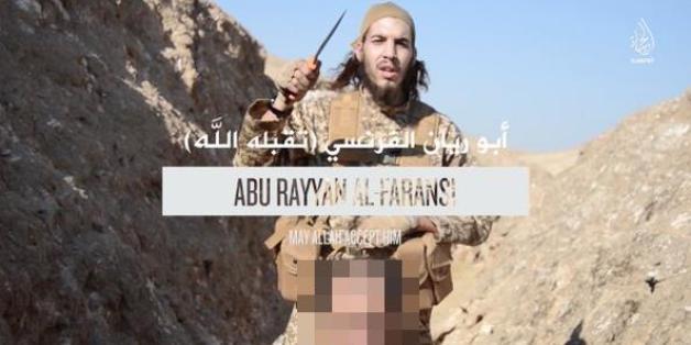 Der Attentäter Omar Ismail Mostefai in einem IS-Video