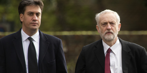 File photo dated 13/11/15 of Labour leader Jeremy Corbyn (right) and his predecessor Ed Miliband, as Mr Miliband said that Jeremy Corbyn is fit to hold the office of prime minister, but he would not be drawn on whether he believes his successor as Labour leader will walk through the door of Number 10.