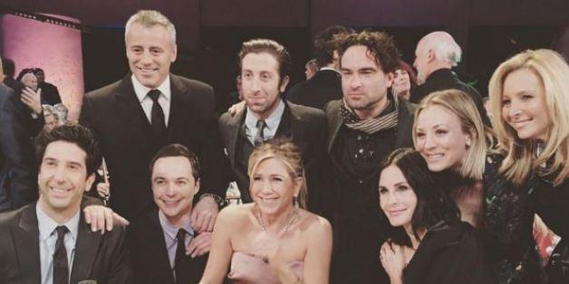 Lorsque Friends et The Big Bang Theory se réunissent