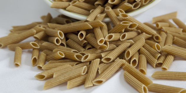 Healthy gluten-free pasta made from chickpeas.