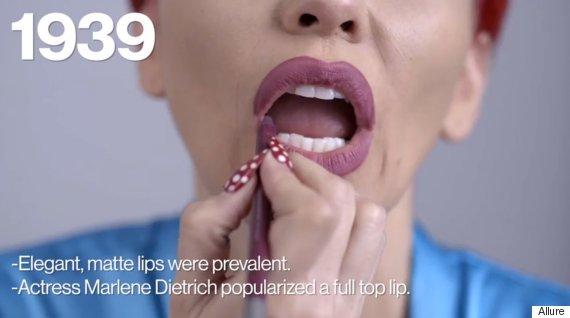 100 years lipstick