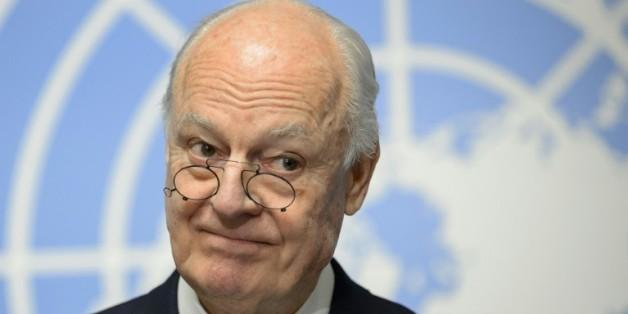 L'émissaire de l'ONU pour la Syrie Staffan de Mistura à Genève, le 25 janvier 2016