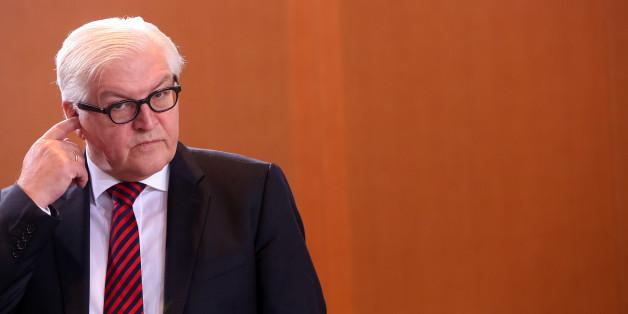 Außenminister Frank-Walther Steinmeier