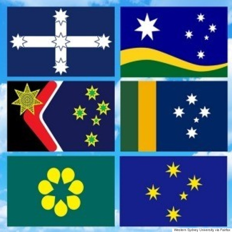 new aussie flags
