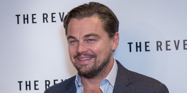 """Leonardo DiCaprio poses for photographers during a photo call for the film """"The Revenant"""" in London, Sunday, Dec. 6, 2015. (Photo by Vianney Le Caer/Invision/AP)"""