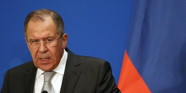 Russlands Außenminister attackiert deutsche Polizei