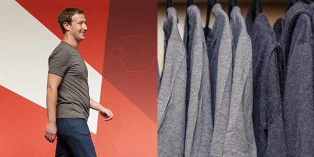 Das ist der Kleiderschrank von Mark Zuckerberg