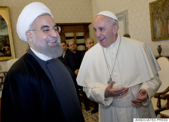 pope rouhani