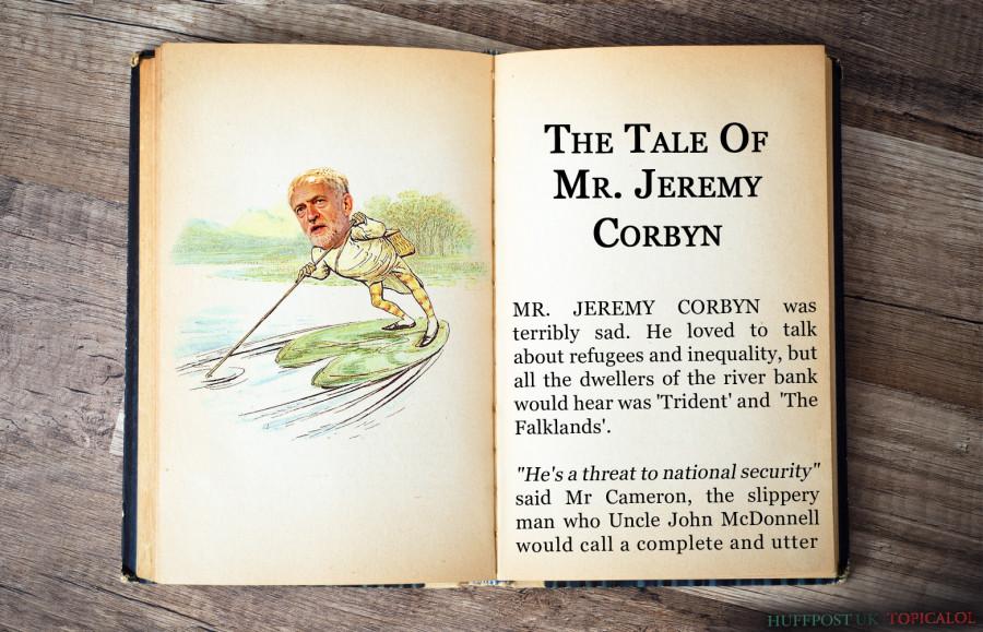 jeremy corbyn beatrix potter