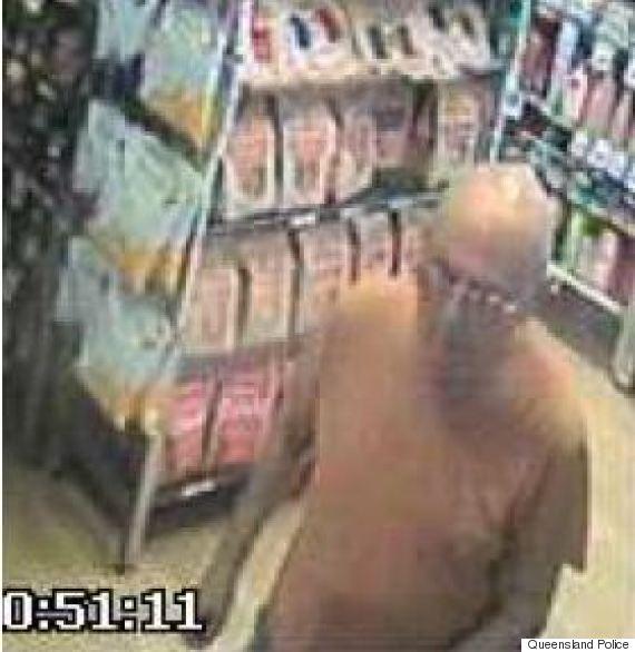 qld supermarket assault cctv