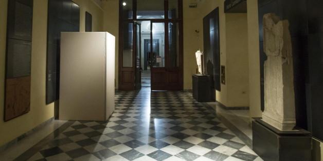 Für den Besuch des iranischen Präsidenten in Rom wurden antike Statuen verhüllt
