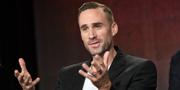 "Joseph Fiennes speaks on stage during the ""Shakespeare Uncovered"" panel at the PBS 2015 Winter TCA on Tuesday, Jan. 20, 2015, in Pasadena, Calif. (Photo by Richard Shotwell/Invision/AP)"
