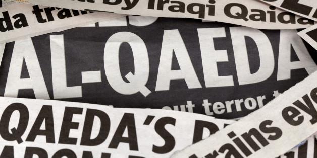 newspaper headlines with focus on Al-Qaeda