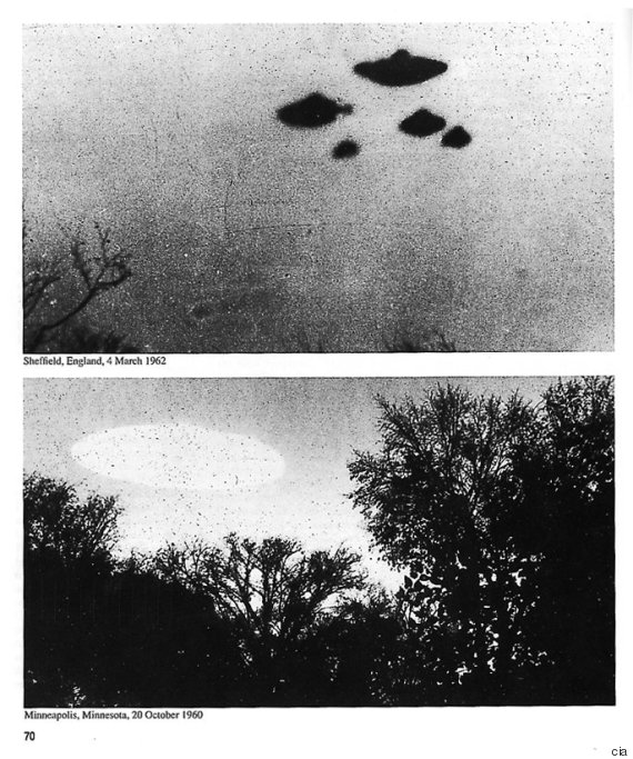 "CIA Post Top Secret UFO ""X-Files"" Online"
