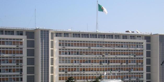 Le palais du gouvernement à Alger