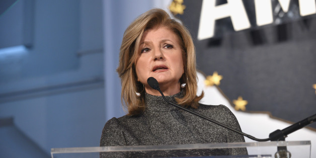 Chair, President and Editor-in-Chief, Huffington Post Media Arianna Huffington speaks during a keynote address during Martha Stewart American Made Summit at Martha Stewart Living Omnimedia Headquarters on November 7, 2015 in New York City