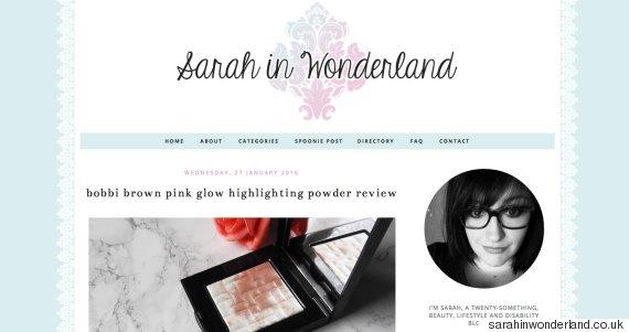 sarah in wonderland