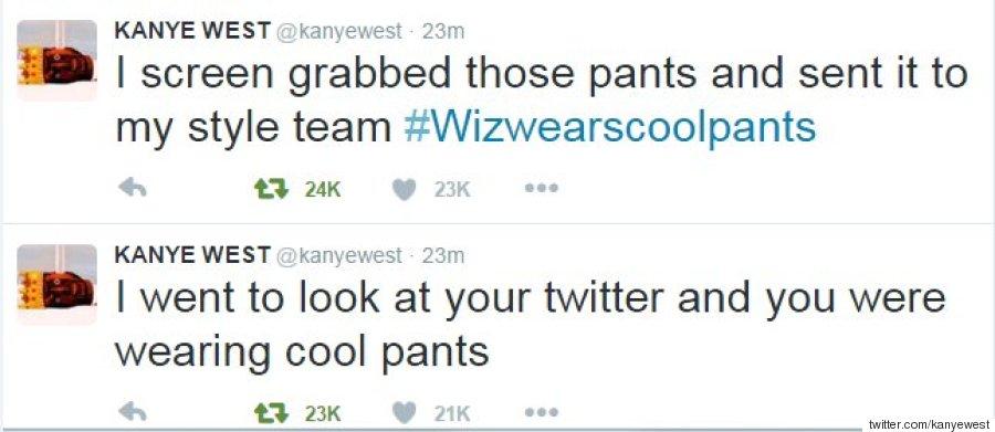 kanye west cool pants