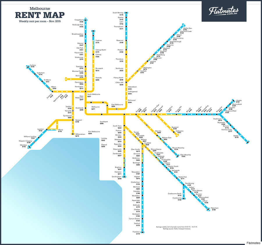 Rent By Train Station Maps For Sydney Brisbane And Melbourne From