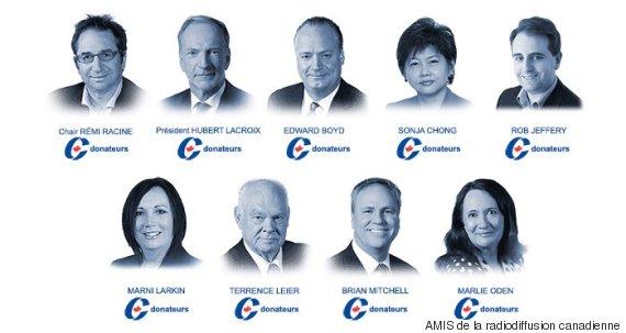 donateurs radio canada