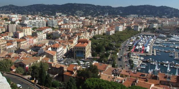 Une vue de Cannes