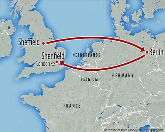 Un viaggio di 1600 chilometri per risparmiare 10 euro: da Sheffield all'Essex, passando per