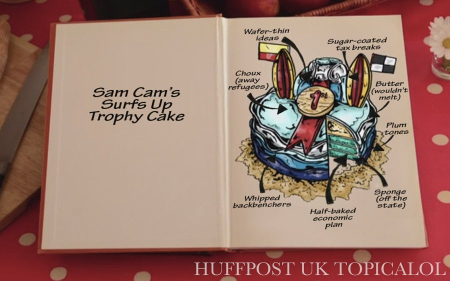 samantha cameron cake great british bake off gbbo