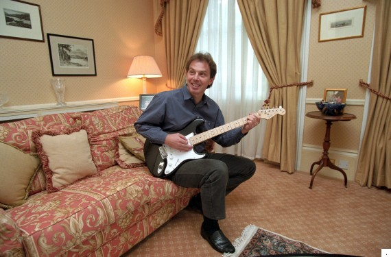tony blair guitar