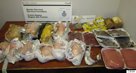 canadian border services seizure