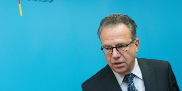Der Leiter des Bundesamtes für Migration und Flüchtlinge (BAMF) Frank-Jürgen Weise