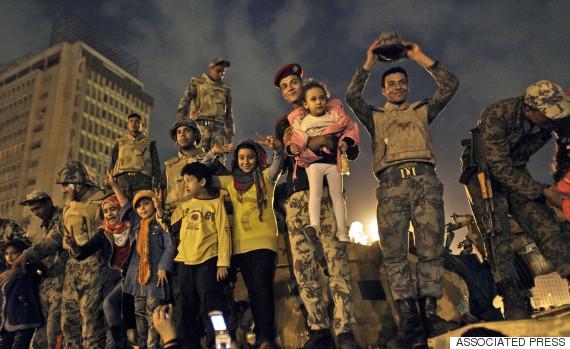 resignation of president hosni mubarak