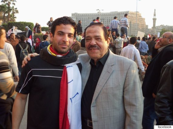 walid at tahrir square