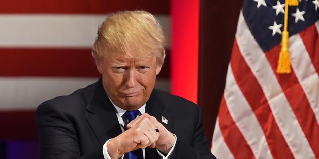 Der Präsidentschaftskandidat Donald Trump