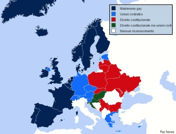 cartina diritti