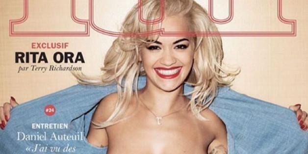 """Rita Ora auf dem Cover des Magazins """"Lui"""""""